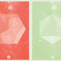 Juan Manuel Yañez 温暖简约的抽象几何图形海报设计欣赏