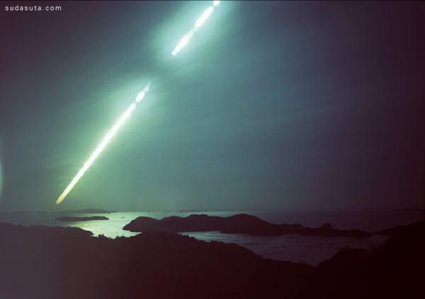 Ken Kitano 长时间曝光产生的迷人风景照
