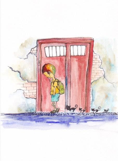 KyleYu 绘本日记《一个人的旅行故事》
