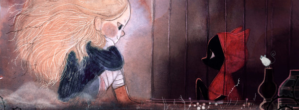 Amélie Fléchais 儿童插画欣赏