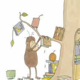 Mattias Adolfsson 清新简单的儿童书籍插画欣赏