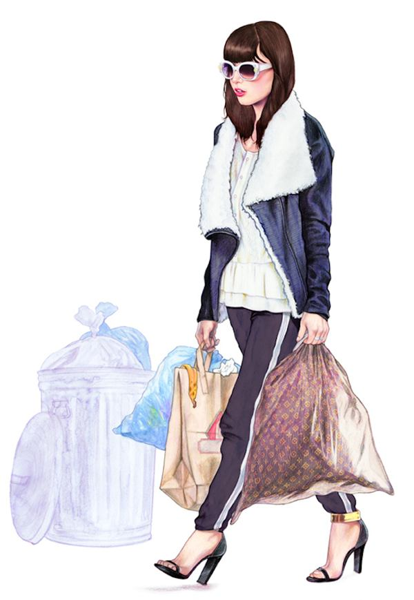 Minni Havas 时尚插画欣赏 - 苏打苏塔设计量贩铺 – sudasuta.com – 每日分享创意灵感!