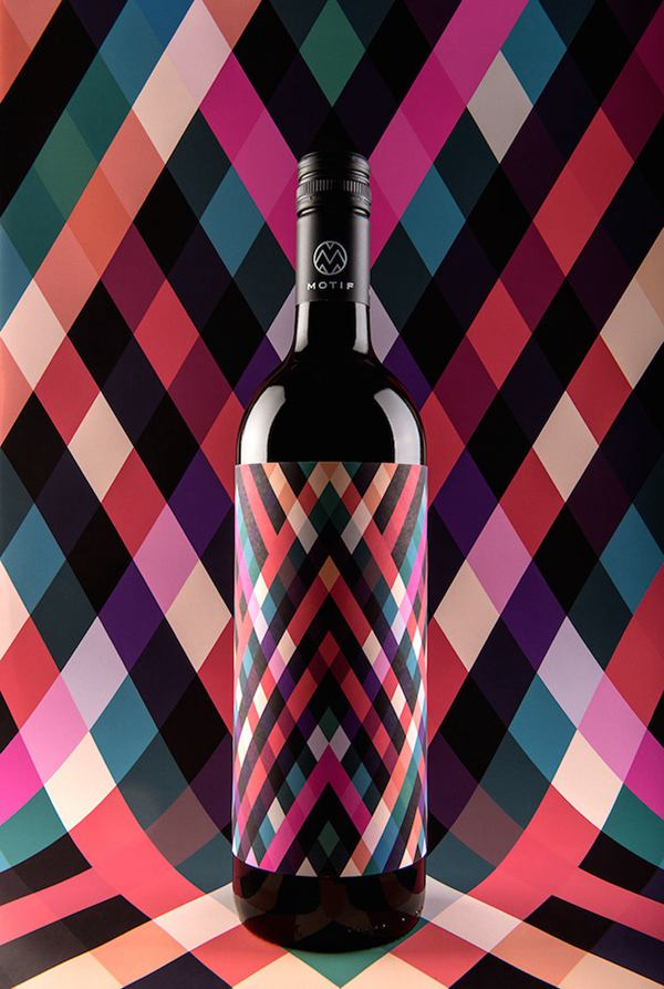 Motif Wine 包装设计欣赏