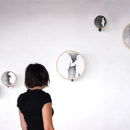 Nastasja Duthois 用杂乱无章的线条构筑的刺绣世界