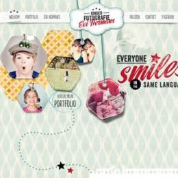 使用柔和色调的创意网站设计