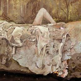 Rebecca Bird 艺术绘画作品欣赏
