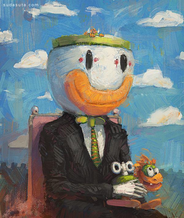 Ronan Lynam 诙谐幽默的手绘插画欣赏 - 苏打苏塔设计量贩铺 – sudasuta.com – 每日分享创意灵感!