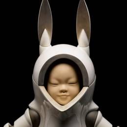 Shiegeki Hayashi 圆润安静的陶瓷俑人