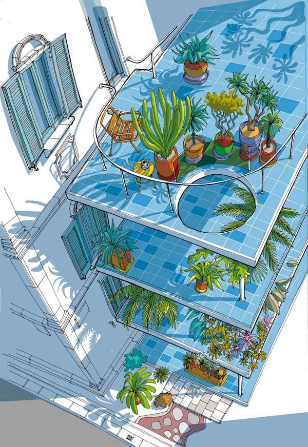Carlo Stanga 自然舒适的手绘插画 - 苏打苏塔设计量贩铺 – sudasuta.com – 每日分享创意灵感!