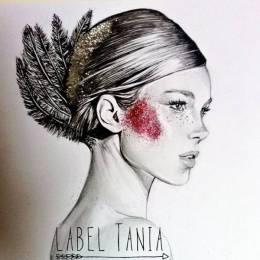 Label Tania 时尚插画欣赏