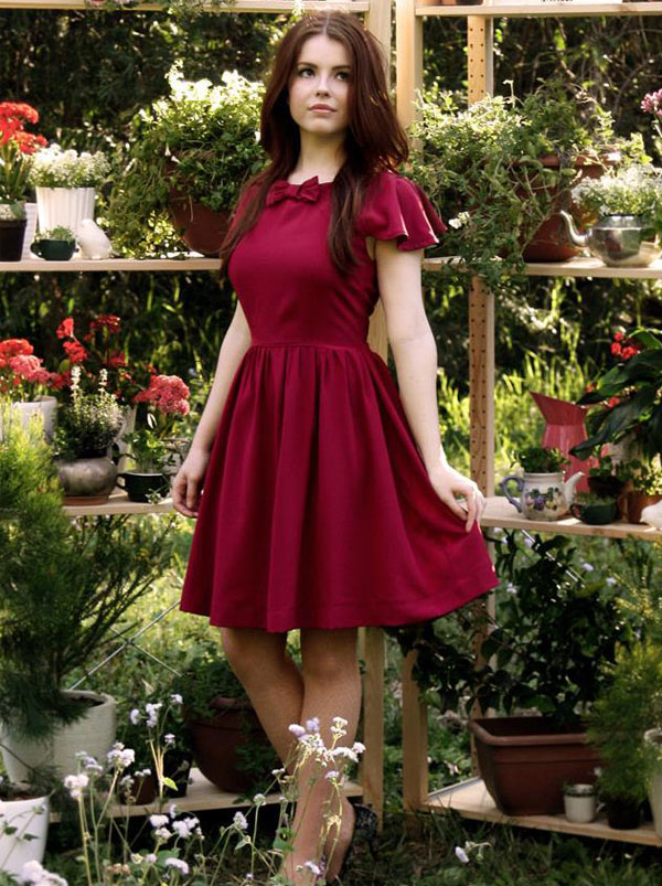 Alice Nightingale 复古美丽的服装设计