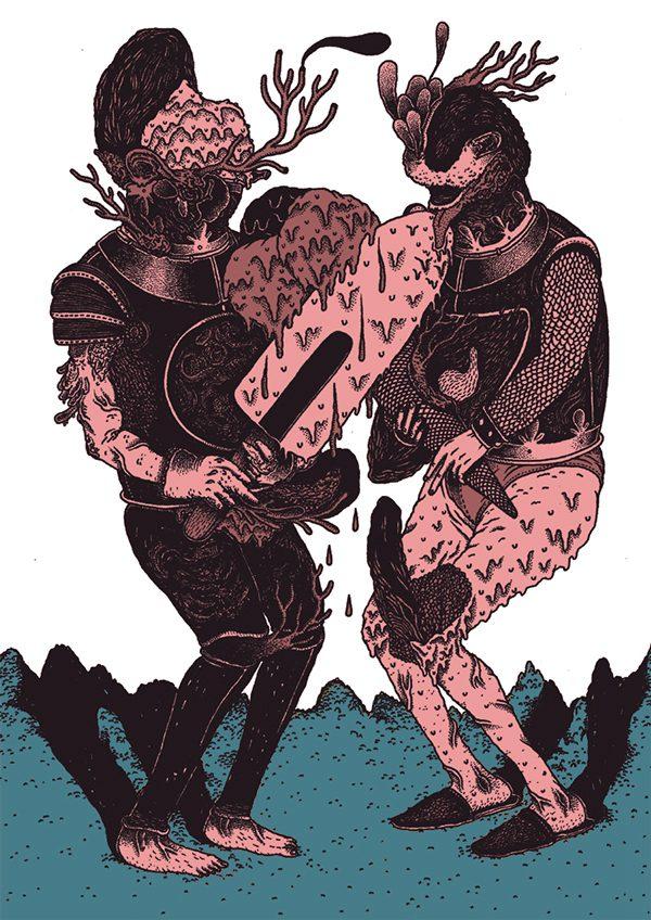 Alessandro Ripane 潮流插画欣赏