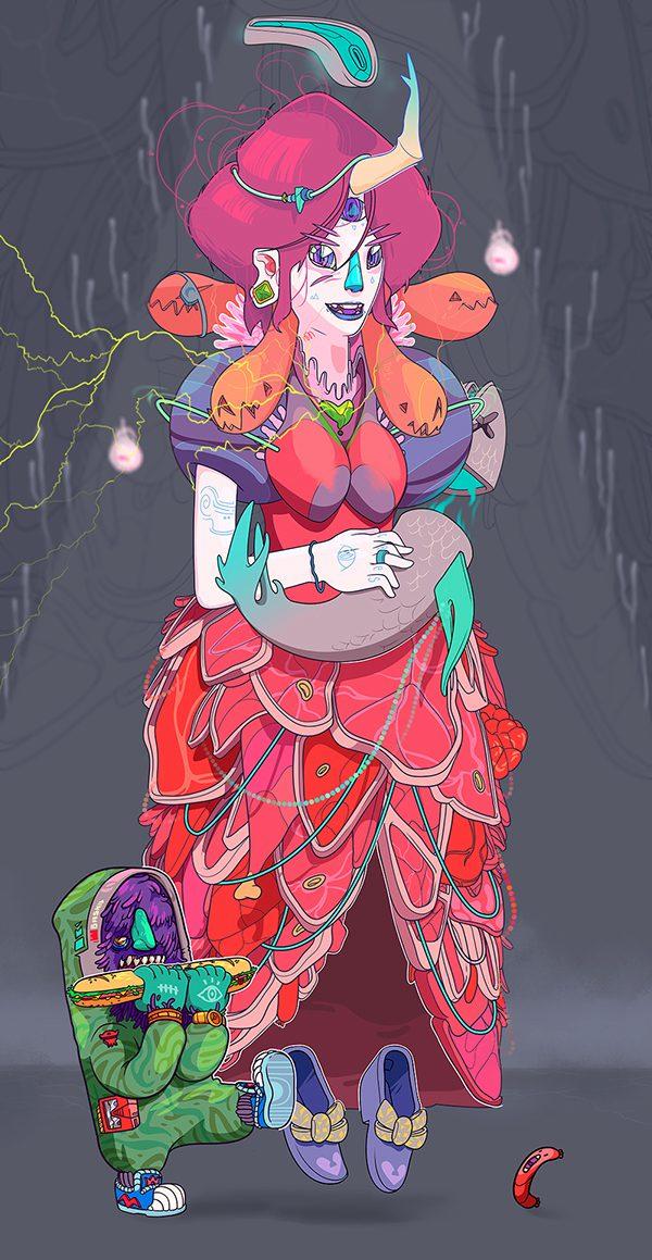 Andrés Maquinita 卡通造型设计欣赏 - 苏打苏塔设计量贩铺 – sudasuta.com – 每日分享创意灵感!