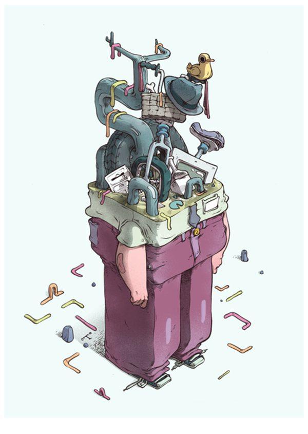 T Wei 潮流卡通插画欣赏