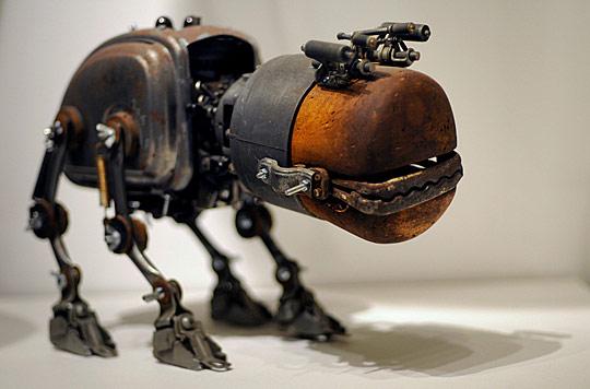 蒸汽朋克摄影与插画——以维多利亚时代的视角看未来