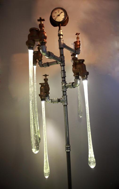 Tanya Clarke 风格别致的蒸汽朋克液体灯