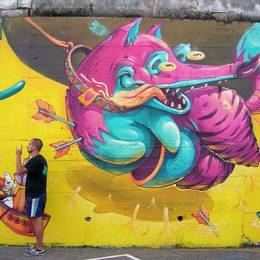 ARSEK & ERASE 潮流街头涂鸦欣赏