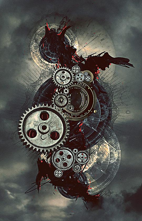 蒸汽主题艺术设计欣赏