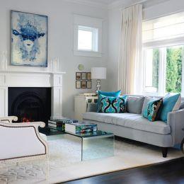 一抹蓝 室内设计欣赏