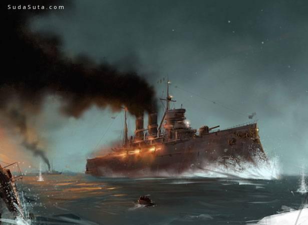 50 幅精彩的战争艺术数字艺术作品欣赏