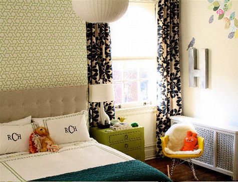 Amie Corley 鲜艳色彩的室内装修设计欣赏