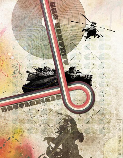 复古风格创意海报设计欣赏