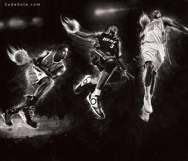 Mike Harrison的创意体育插图