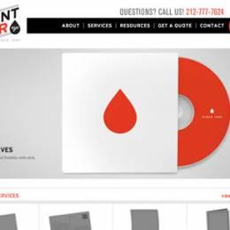 带有幻灯设计的创意网站设计欣赏
