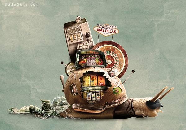 Jerico Santander 极具创意的插图欣赏