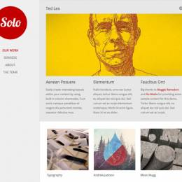 30个创意单页网站设计欣赏