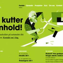 色彩出众的创意网站设计欣赏