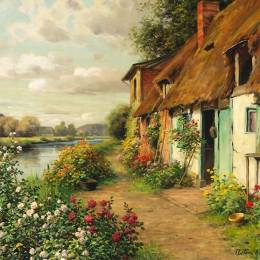 Louis Aston Knight 艺术插画欣赏