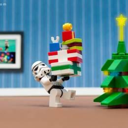 富于创意的圣诞树主题摄影