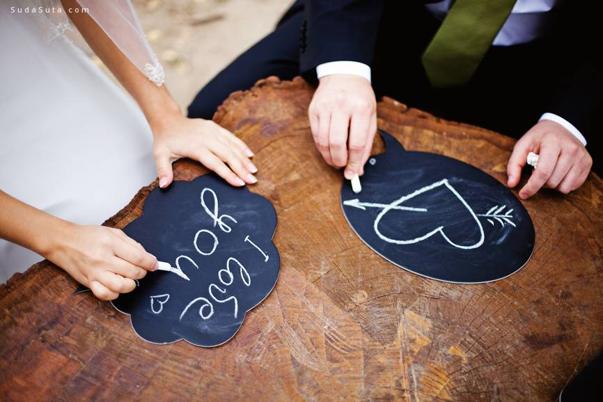 幸福浪漫的婚礼摄影欣赏