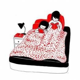 Philippa Rice 清新可爱的生活插画