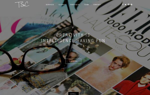 网页设计新趋势 更少文字更多的富媒体
