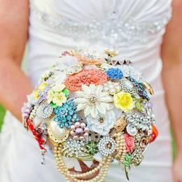 美丽胸针 美丽新娘