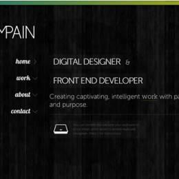 30个富有创意的暗色网站设计
