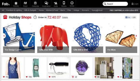 清爽干净的的极简主义风格商城网页设计指南