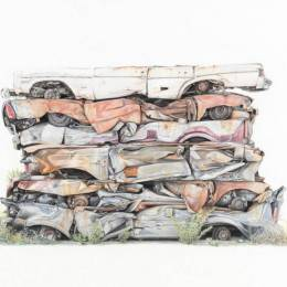 Paul White 细腻的铅笔画欣赏