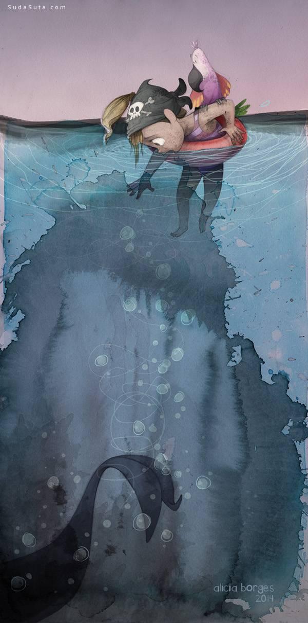 alicia borges 儿童插画欣赏 - 苏打苏塔设计量贩铺 – sudasuta.com – 每日分享创意灵感!