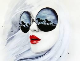 Anna Hammer 时尚手绘插画欣赏