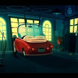 Romain Trystram 动画背景设计欣赏