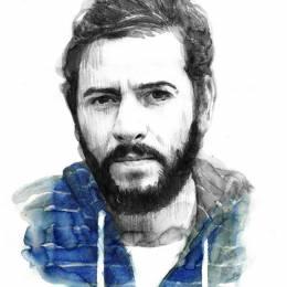 Berto Martinez 生动的手绘人像素描