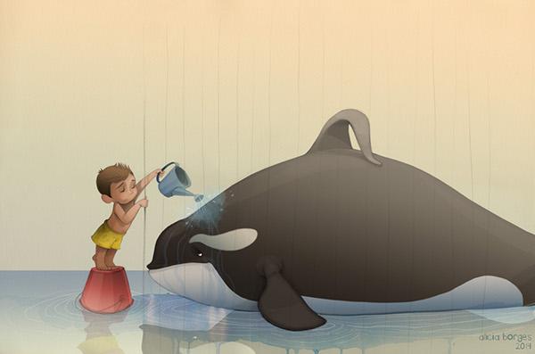 alicia borges 儿童插画欣赏