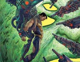 Nisachar 超级英雄概念插画欣赏