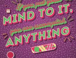 Gordon Reid 色彩鲜艳的海报设计欣赏
