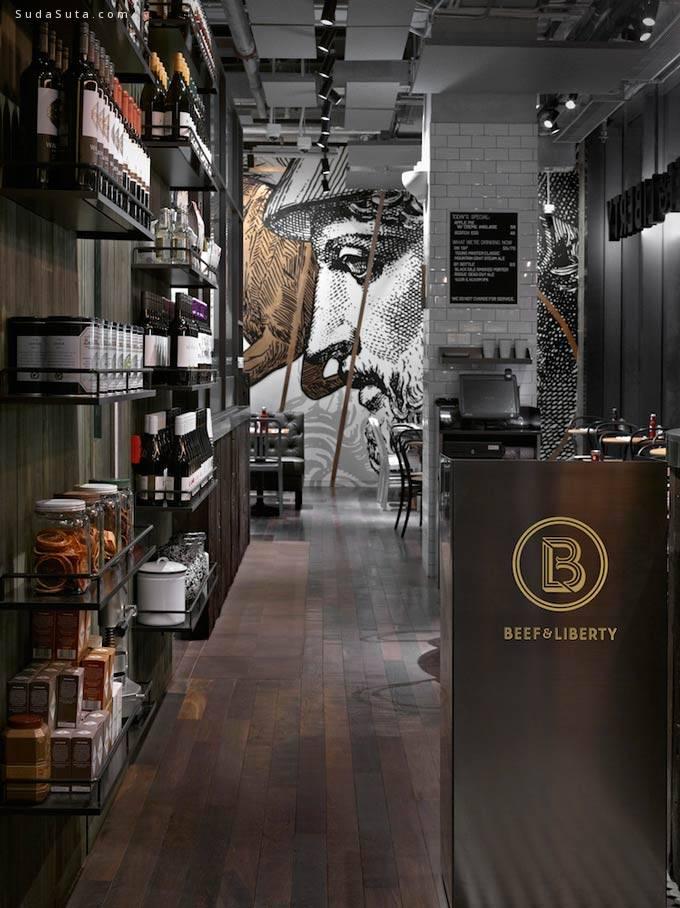 Beef&Liberty 酒吧设计欣赏 - 苏打苏塔设计量贩铺 – sudasuta.com – 每日分享创意灵感!
