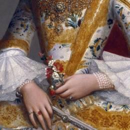 艺术欣赏 西方油画中的扇子