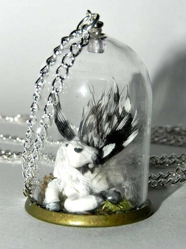 Steph 手工艺术 迷你的瓶中世界